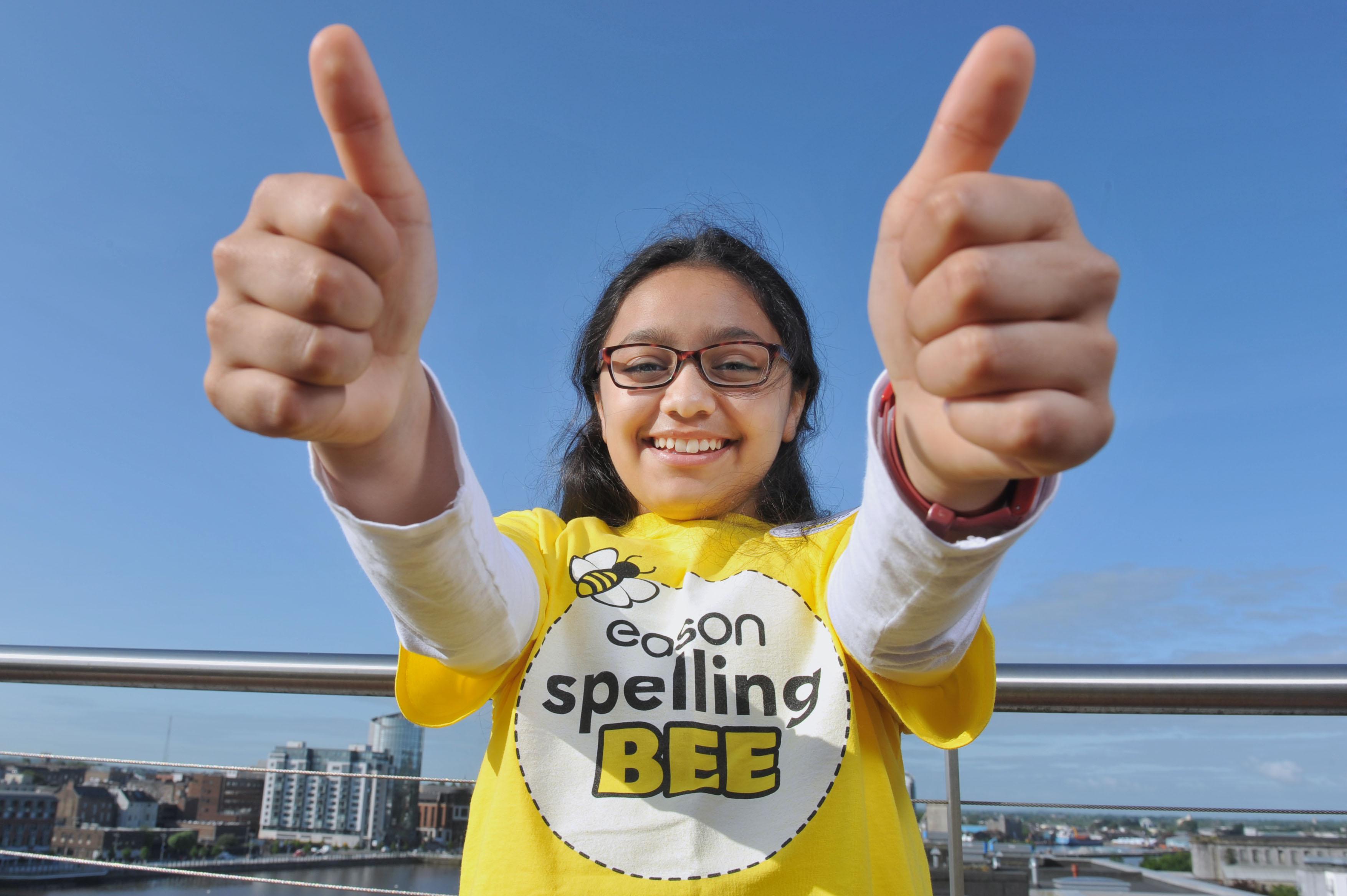 Zoha Panezai wins Munster Spelling Bee Champion