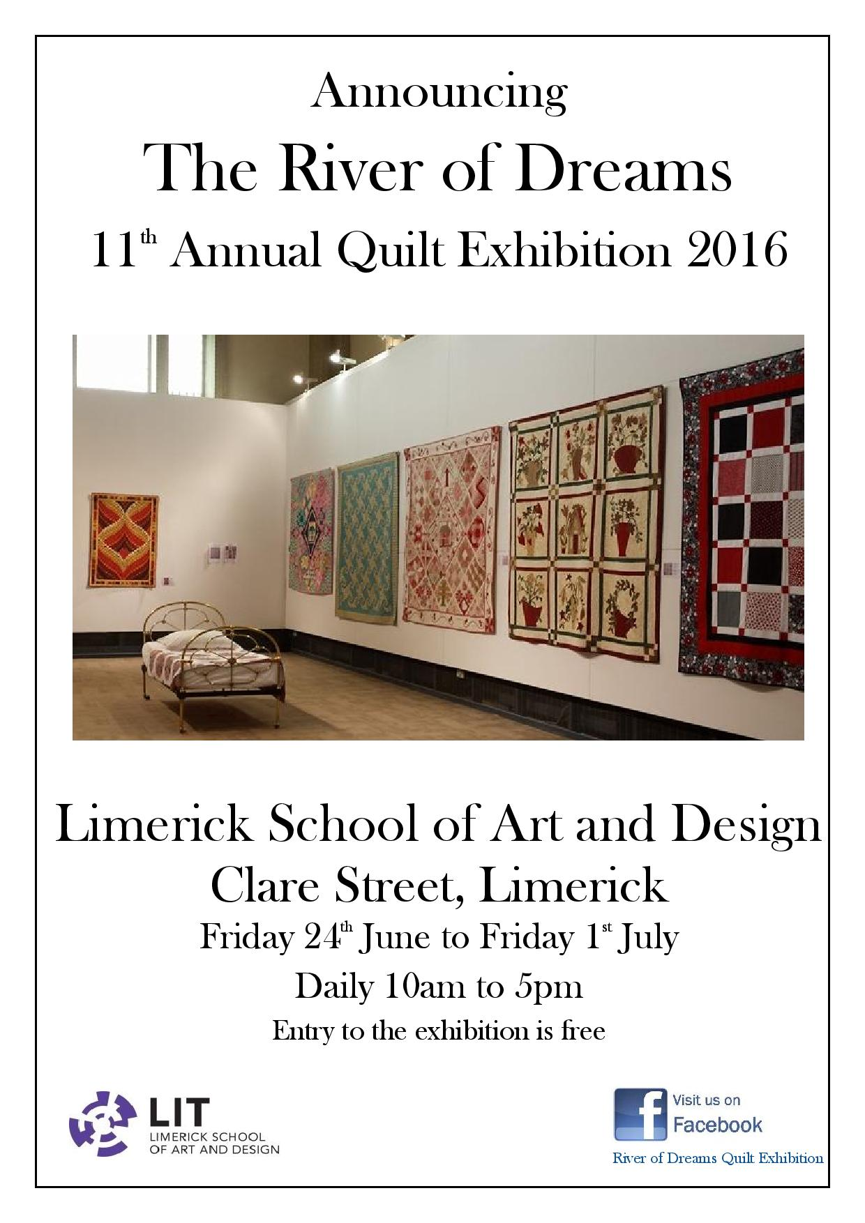 River of Dreams quilt exhibition 2016