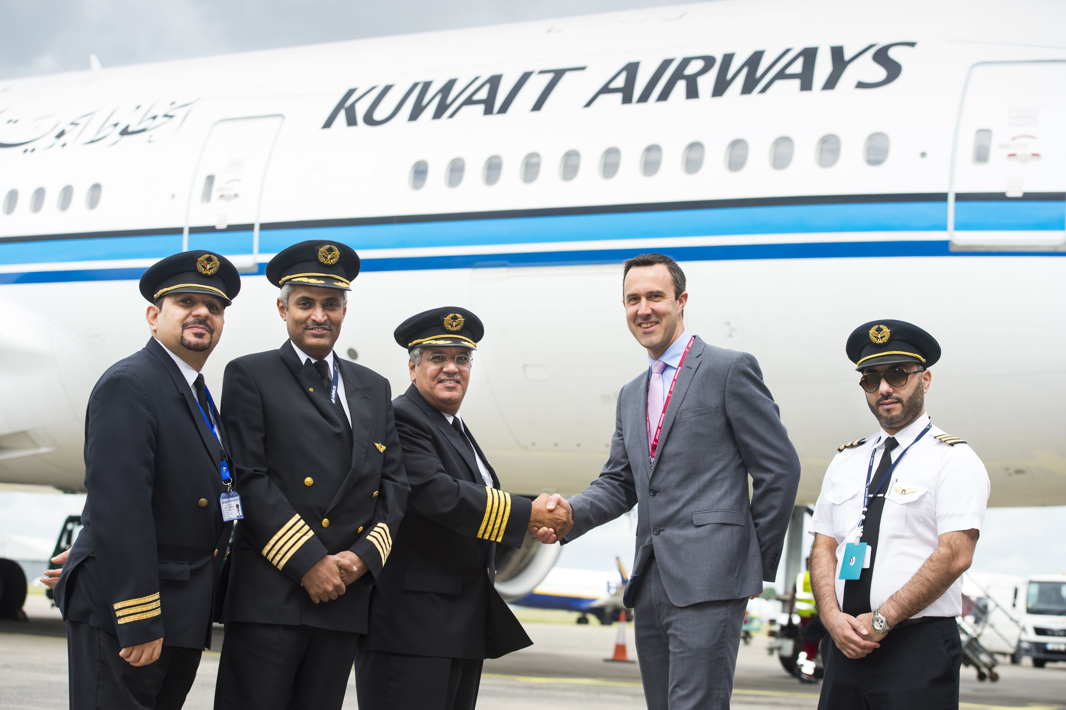 Kuwait Airways Shannon service