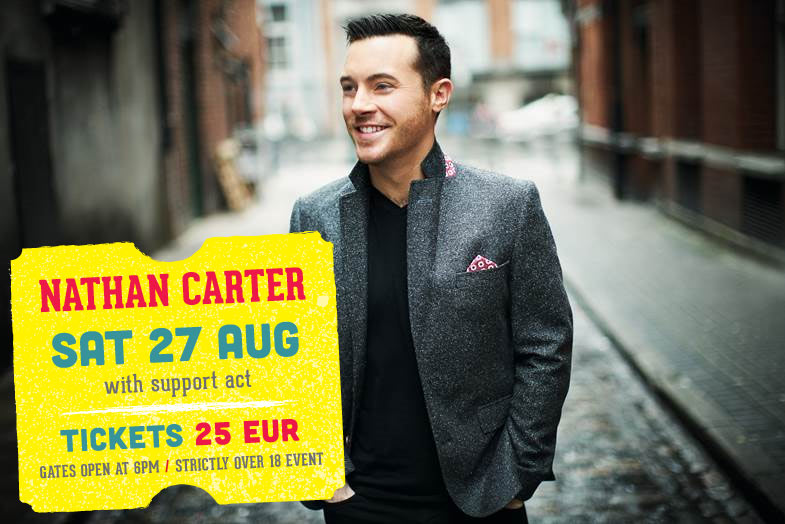 Nathan Carter to hit Mungret Music Festival