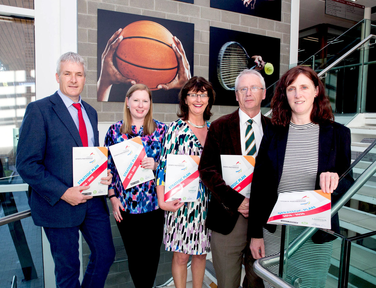 Limerick Sports Strategy Getting Limerick Active