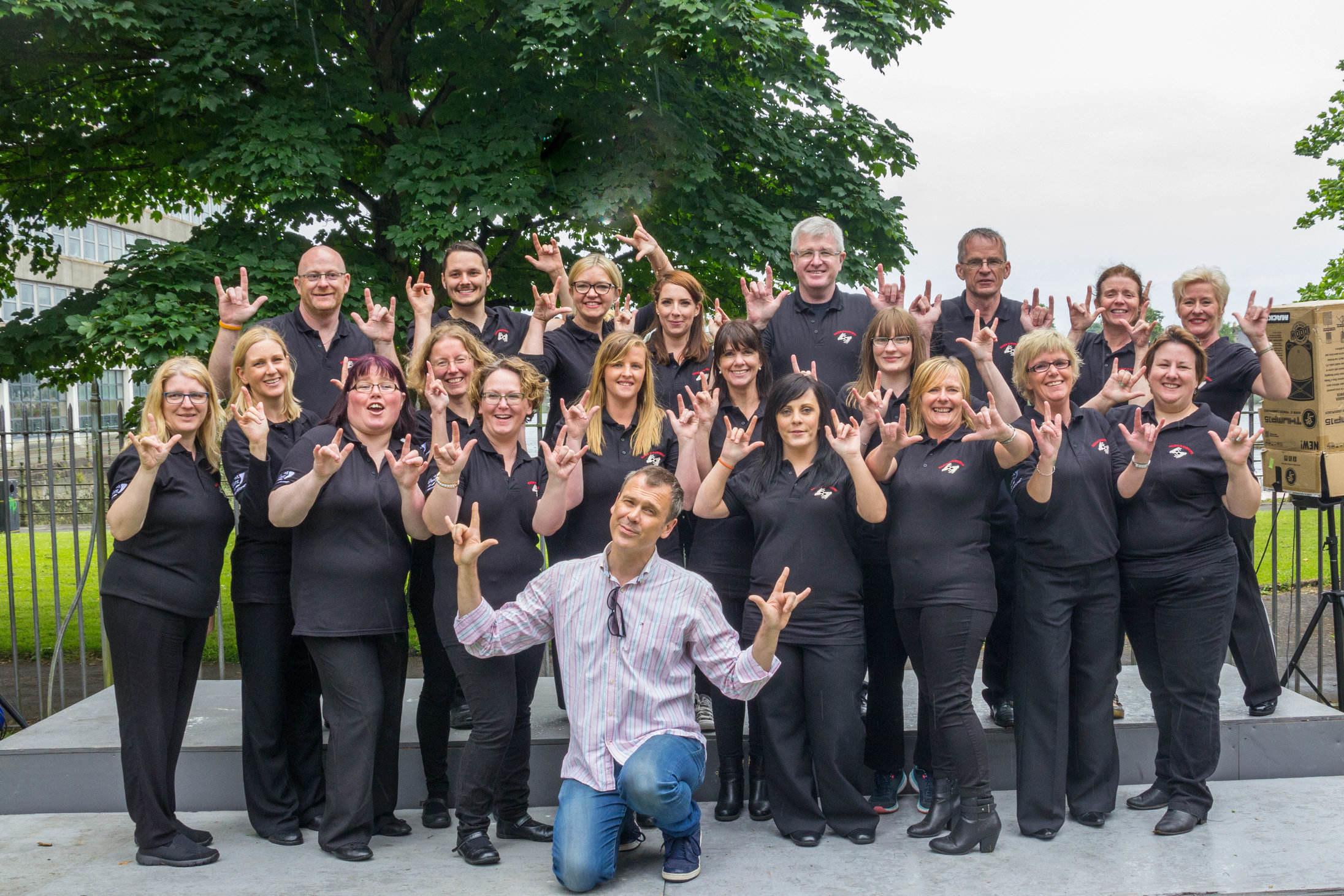 Hands in Harmony Deaf Community Choir Family Fun Day