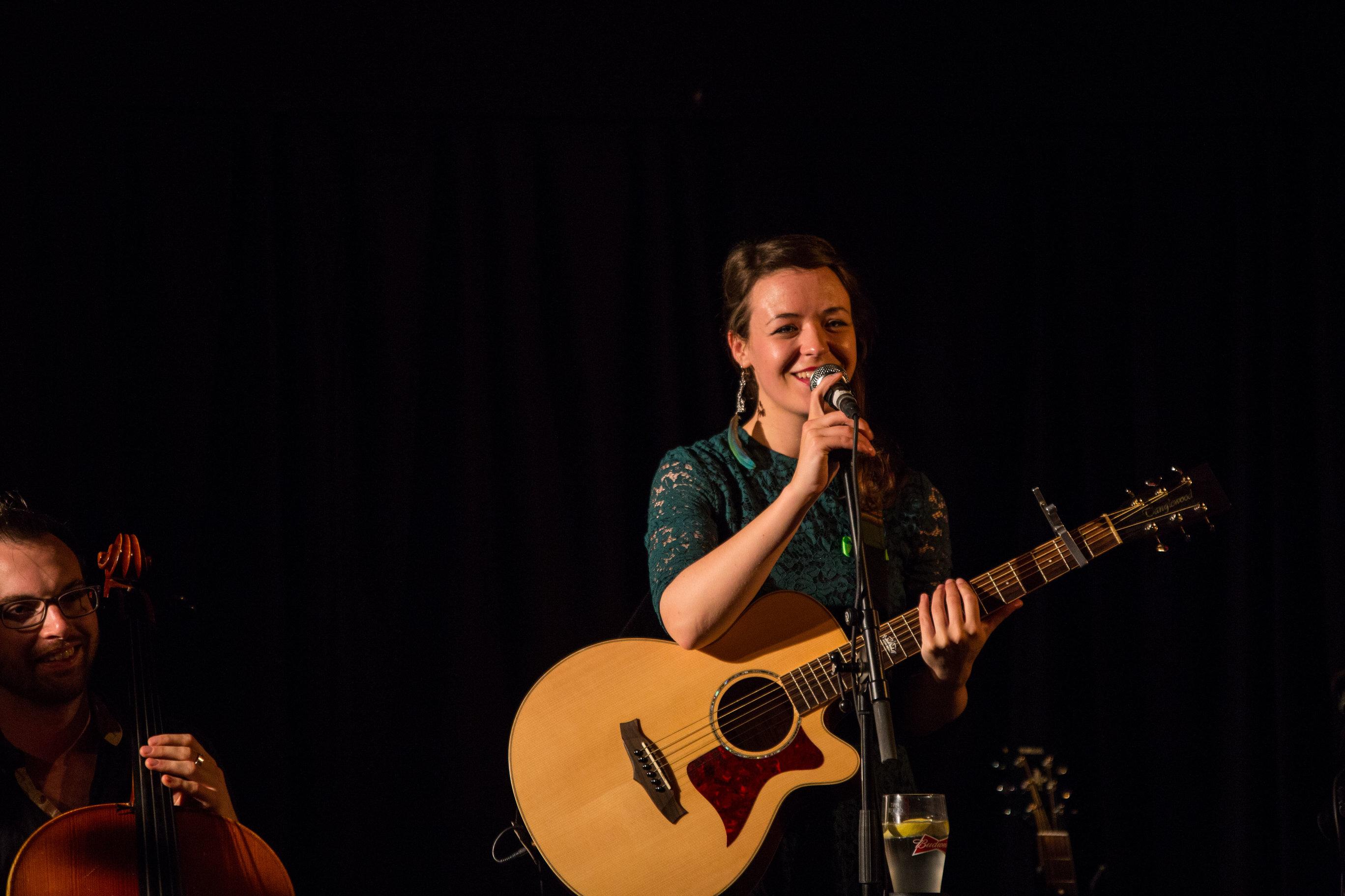 Emma Langford debuts EP at Dolans Limerick. Picture by Cian Reinhardt/ilovelimerick
