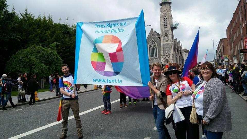 Limerick Pride Trans Grand Marshal Broden Giambrone
