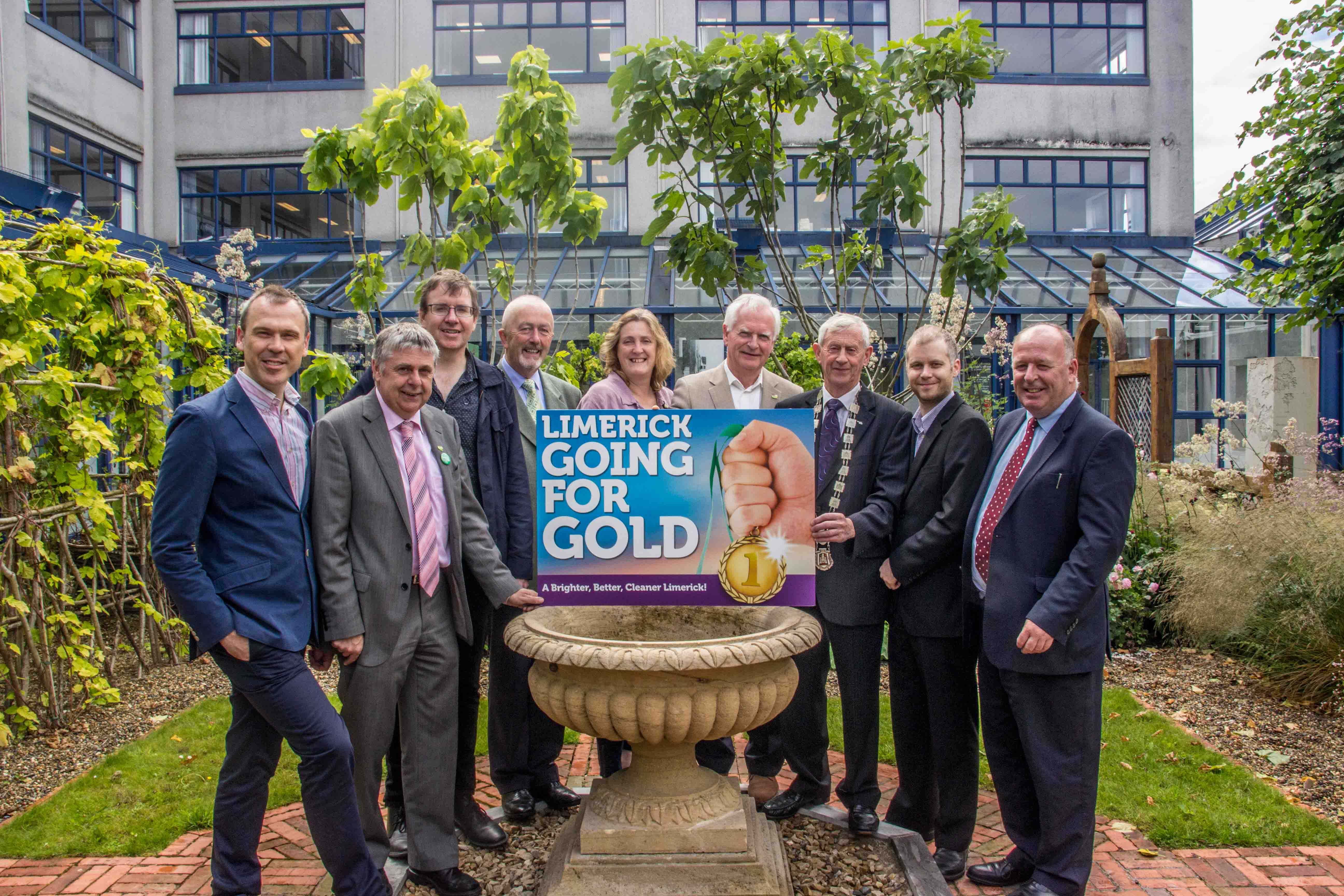 Limerick Going For Gold 2016 Campaign. picture by Cian Reinhardt