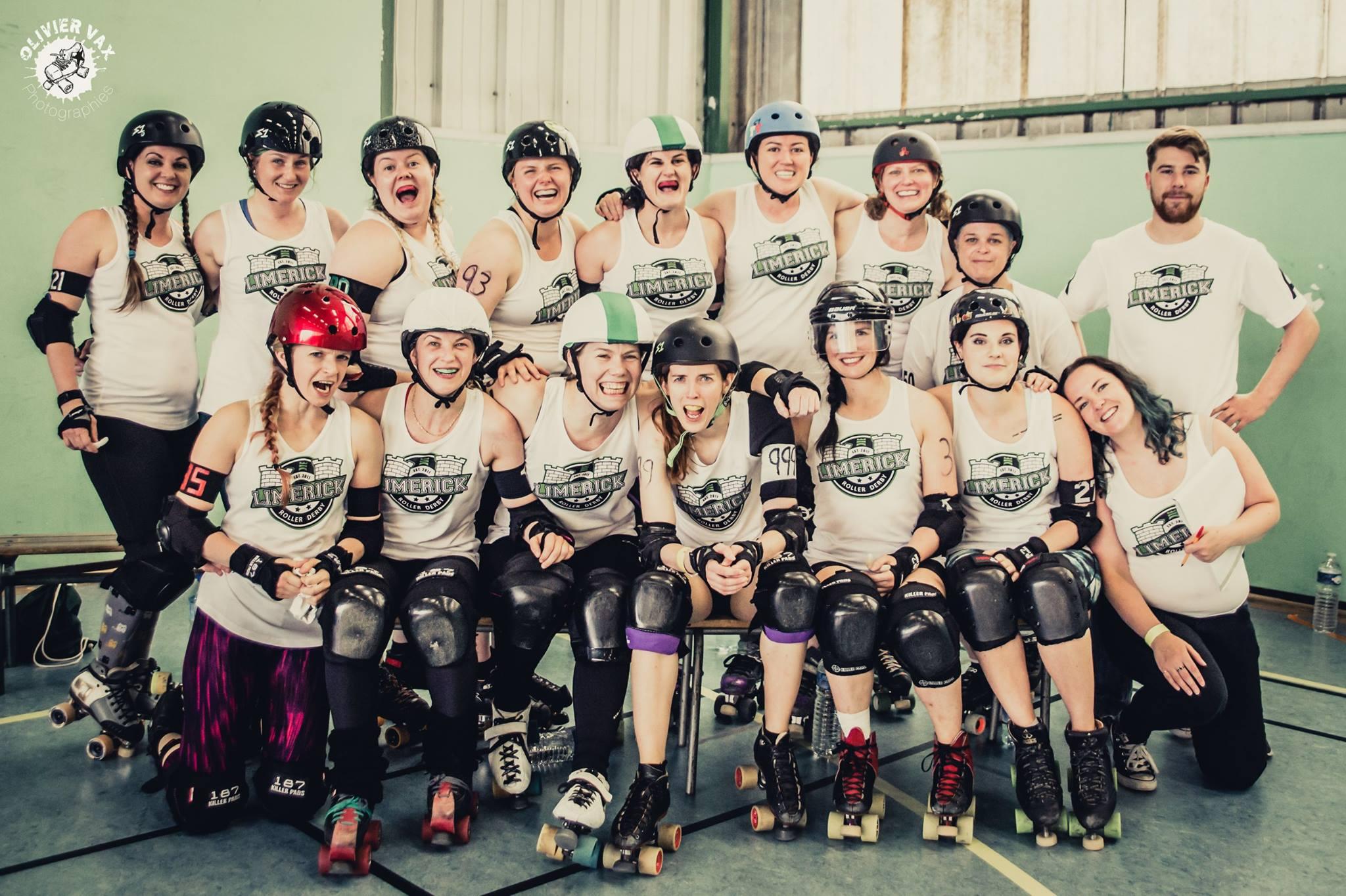 Limerick Roller Derby Paris victory, Limerick Roller Derby