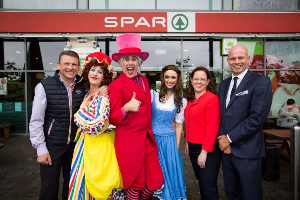 1 SPAR Announce UCH Panto Sponsorship of 2016 UCH Panto Beauty and the Beast