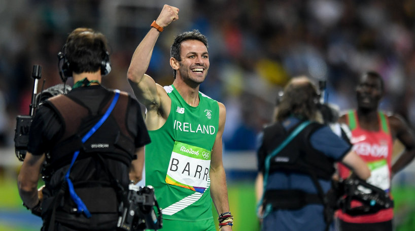 UL athlete Thomas Barr earns Olympic final appearance