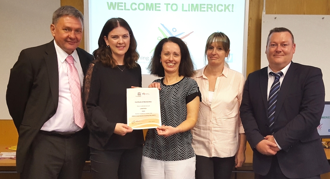 Limerick joins UNESCO