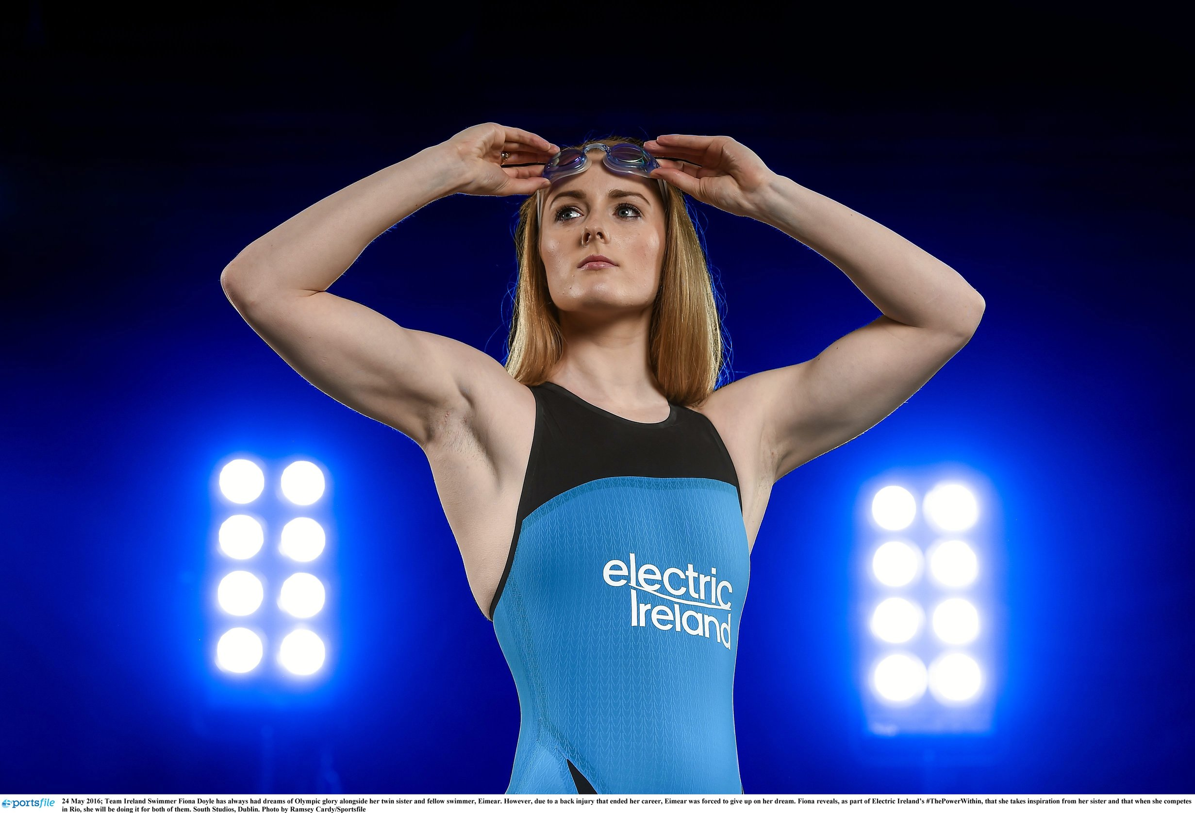 swimmer Fiona Doyle