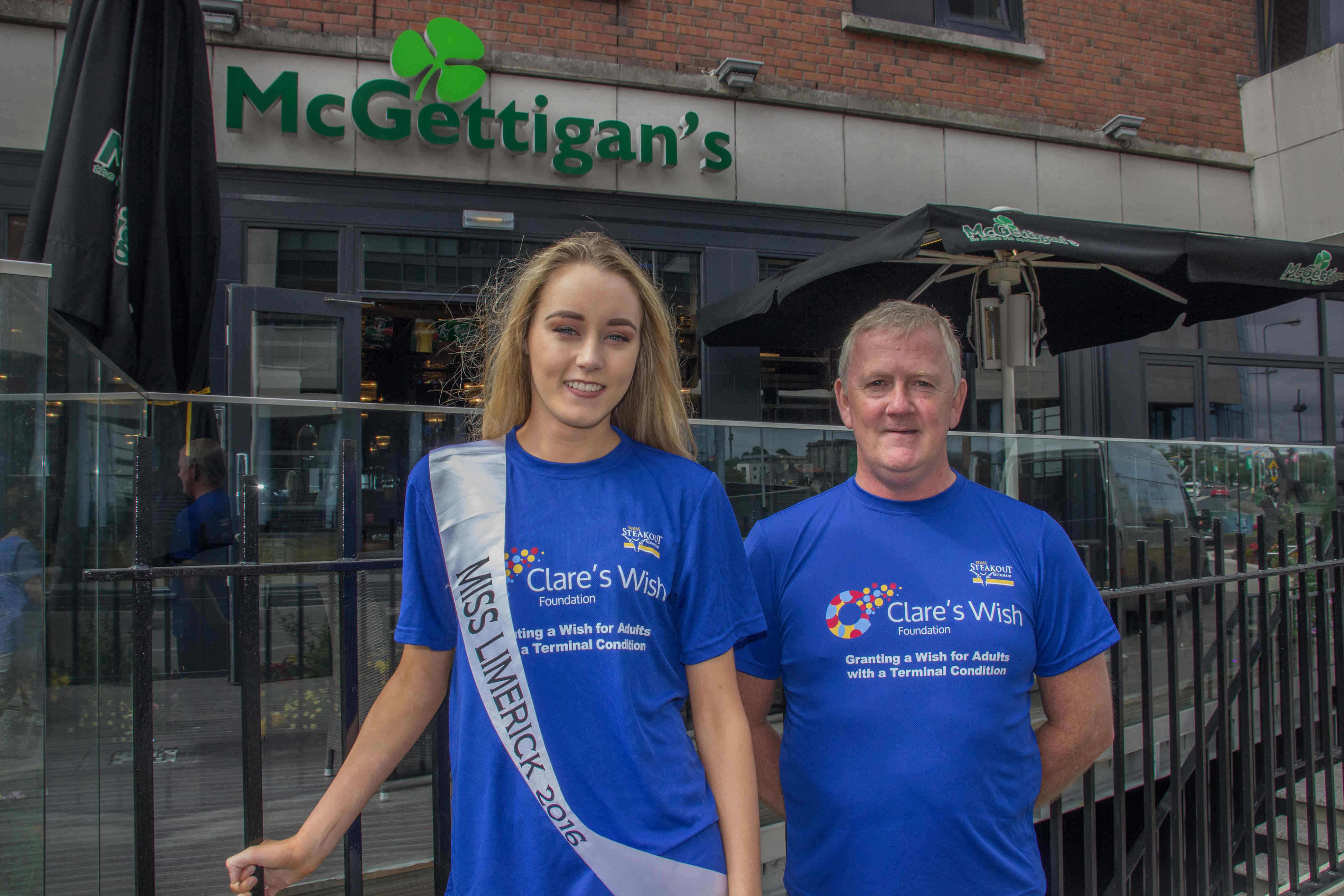 Clares Wish Foundation Neven Maguire cookery demonstration