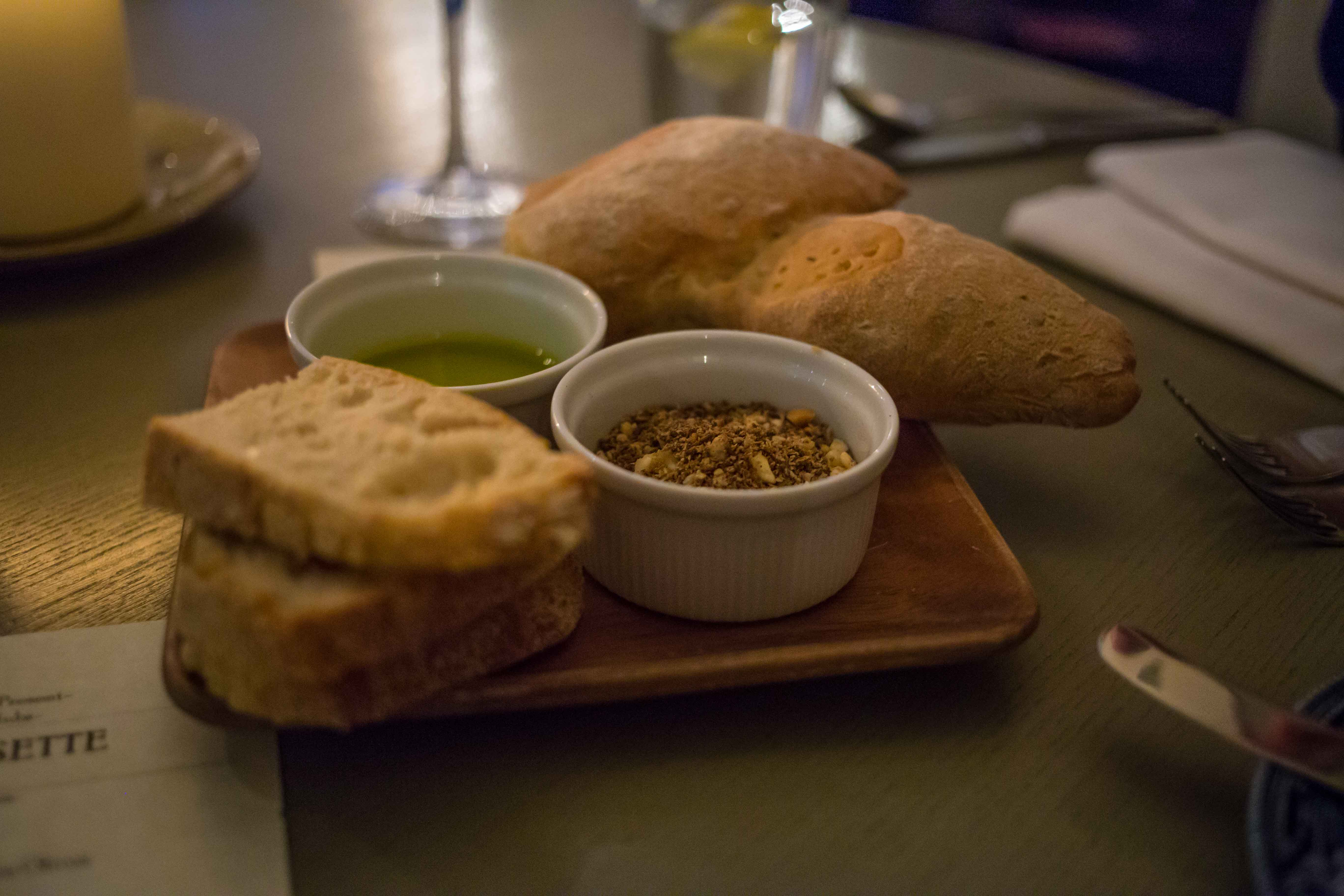 Epi Loaf with mixed nuts and spices at Tim's Table Supper Club. Picture: Cian Reinhardt/ilovelimerick