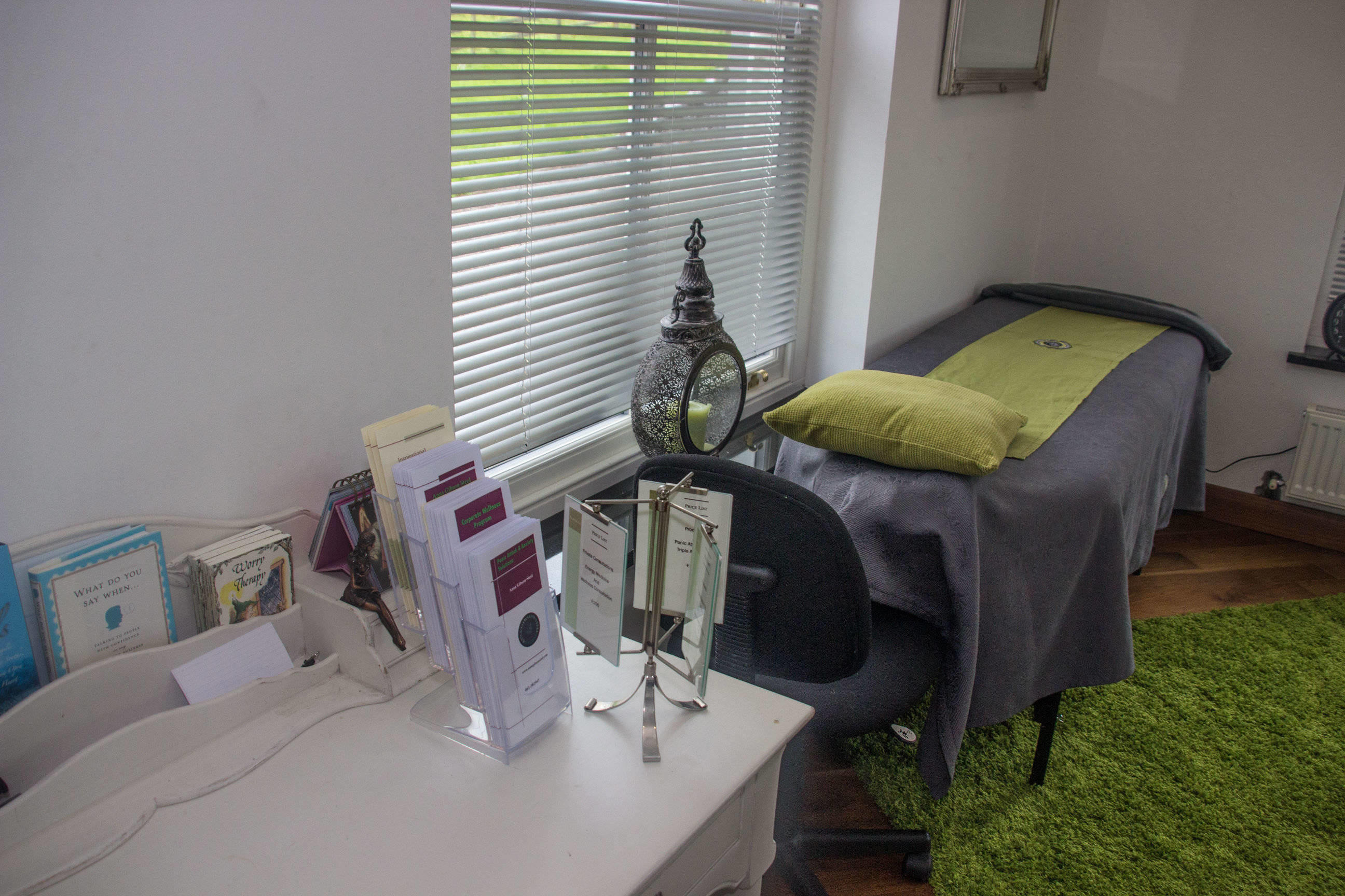 With private treatment rooms, The Holistic Centre of Excellence can peacefully treat patrons.