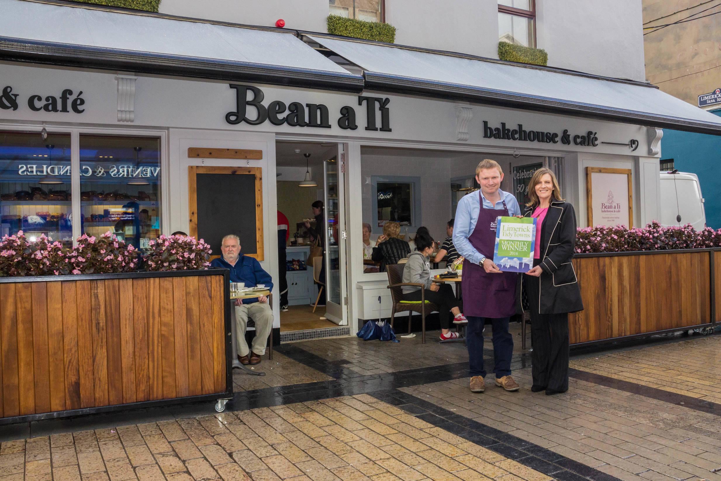 Limerick Tidy Towns Monthly Award September 2016