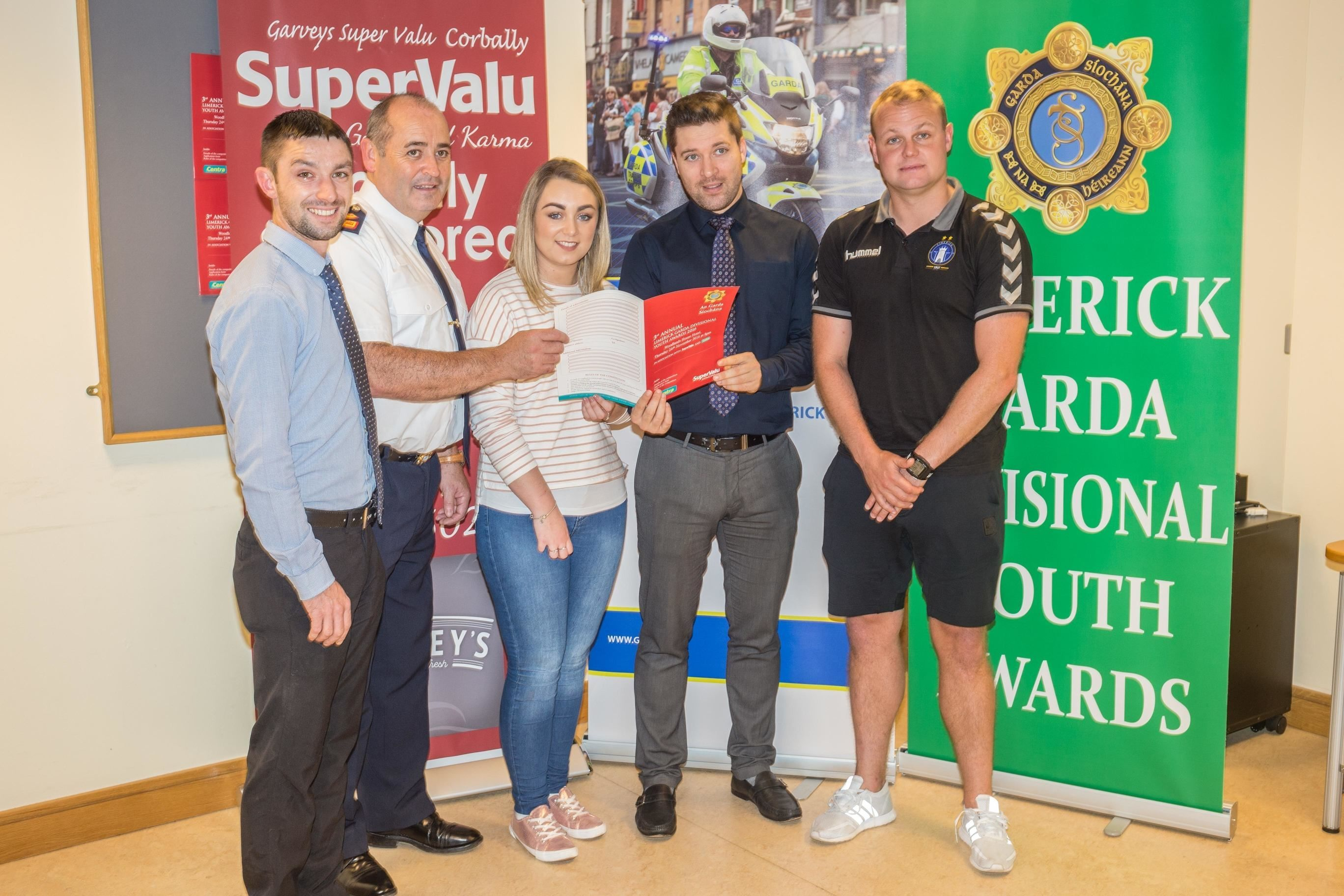 Limerick Garda Divisional Youth Awards 2016