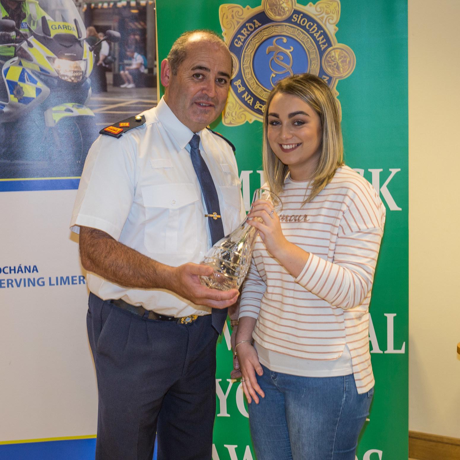 Limerick Garda Divisional youth Awards 2016