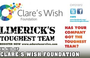 Clares Wish Foundation toughest team Adare to Survive