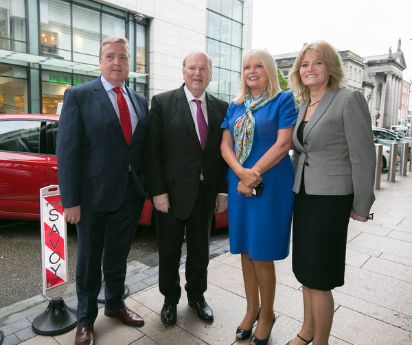 Niall O'Callaghan, business development manager, IDA, Minister for Jobs, Enterprise and Innovation Mary Mitchell O'Connor, WP Engine CEO Heather Brunner & Minister for Finance Michael Noonan T.D pictured at the Announcement of 100 Jobs in Limerick by WP Engine. WP Engine, a company that powers amazing digital experiences for websites and applications built on the WordPress platform announced the opening of its new Technical Support & Innovation Centre in Limerick today, which is expected to create 100 jobs over three years.WP Engine is the leader in delivering managed services for premium websites built on WordPress. Today, approximately 5% of the online world visits a website powered by WP Engine every day. Globally, over 350,000 digital brands trust WP Engine with their online reputation across 136 countries and counting. Since the launch of its London office in 2015, WP Engine's customer base has more than doubled. The opening of the Limerick centre, will further support the surging demand for managed WordPress across EMEA. Picture Credit Brian Gavin Press 22