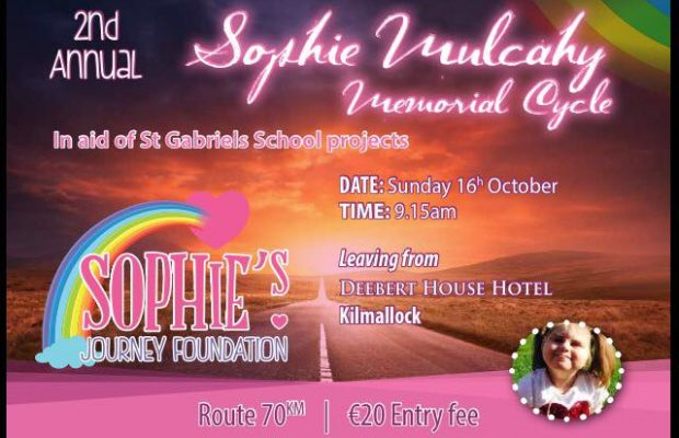 Second Annual Sophie Mulcahy Memorial Cycle
