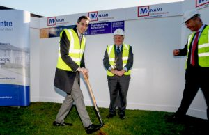 Simon Harris launches Milford Care Centre project