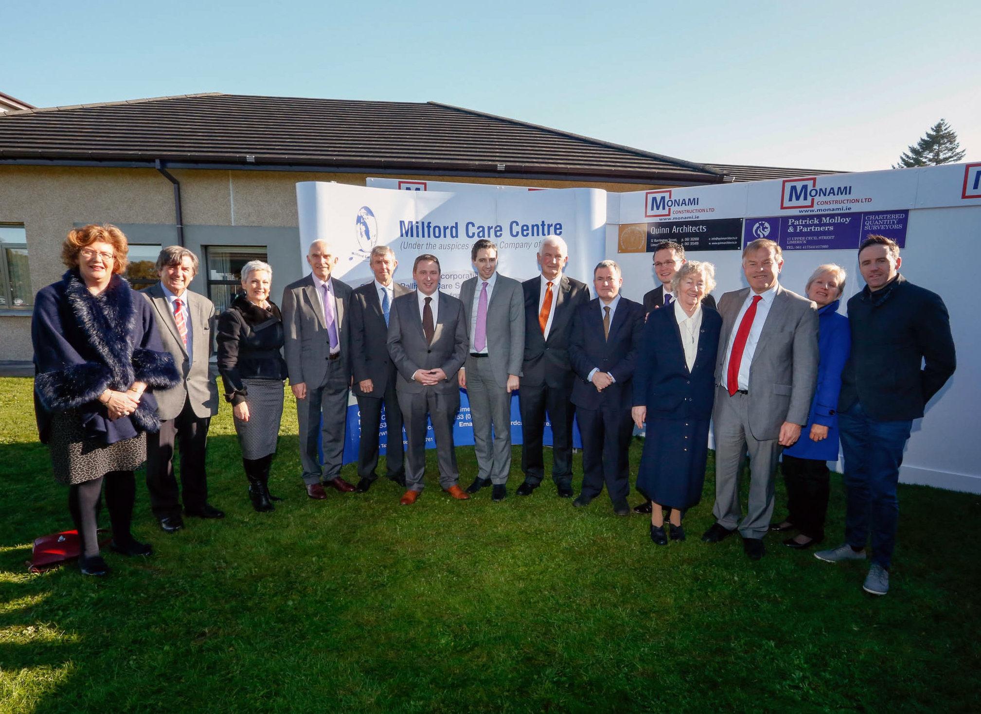Simon Harris launches Milford Care Centre project