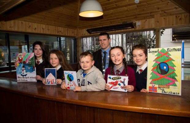 Limerick City Fairtrade Christmas Card Competition 2016