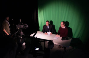 UL TV news studio