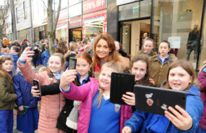 Limerick Banks Attempt Record Breaking Selfies