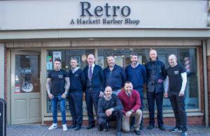 Bus Eireann members Movember Milford Hospice fundraiser