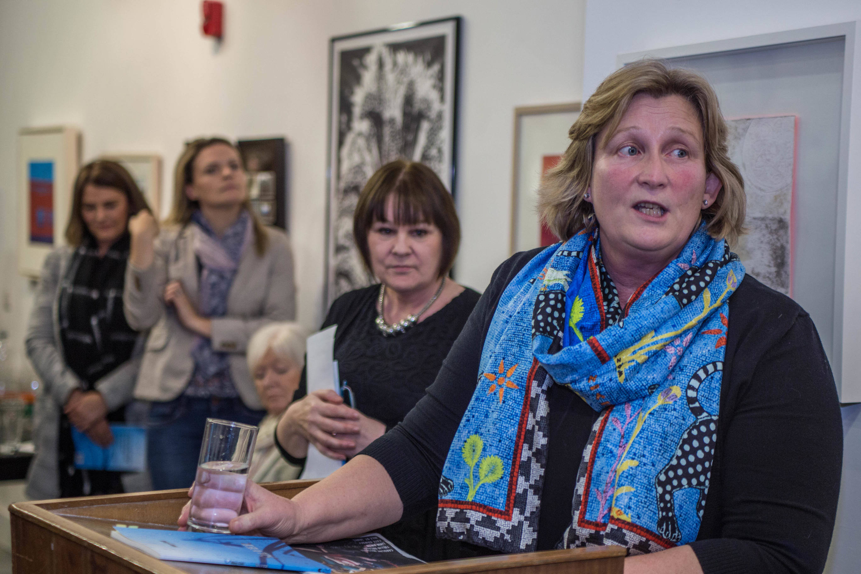 Photos: mary coll launches silver a collection of poetry