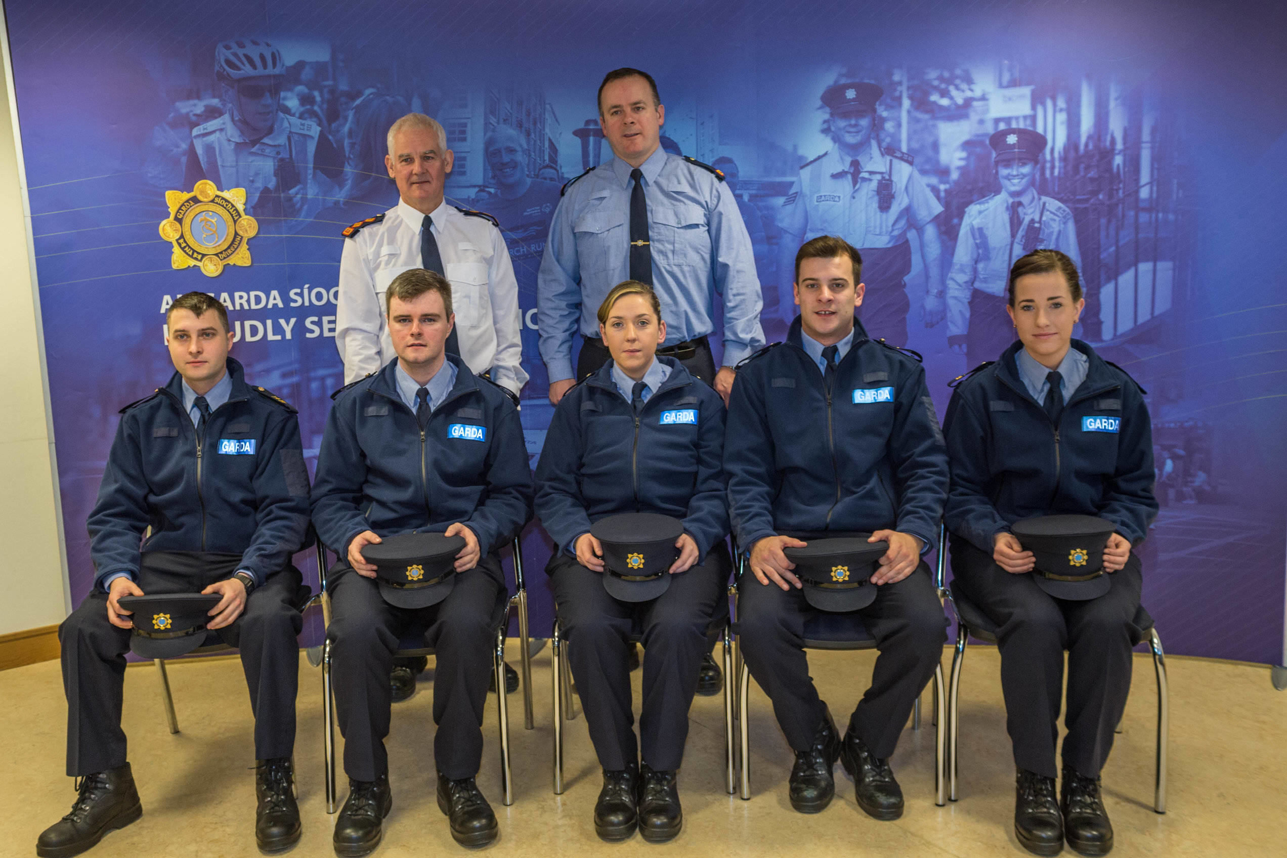 Limerick City welcomes eleven Probationer Garda at Henry Street Station