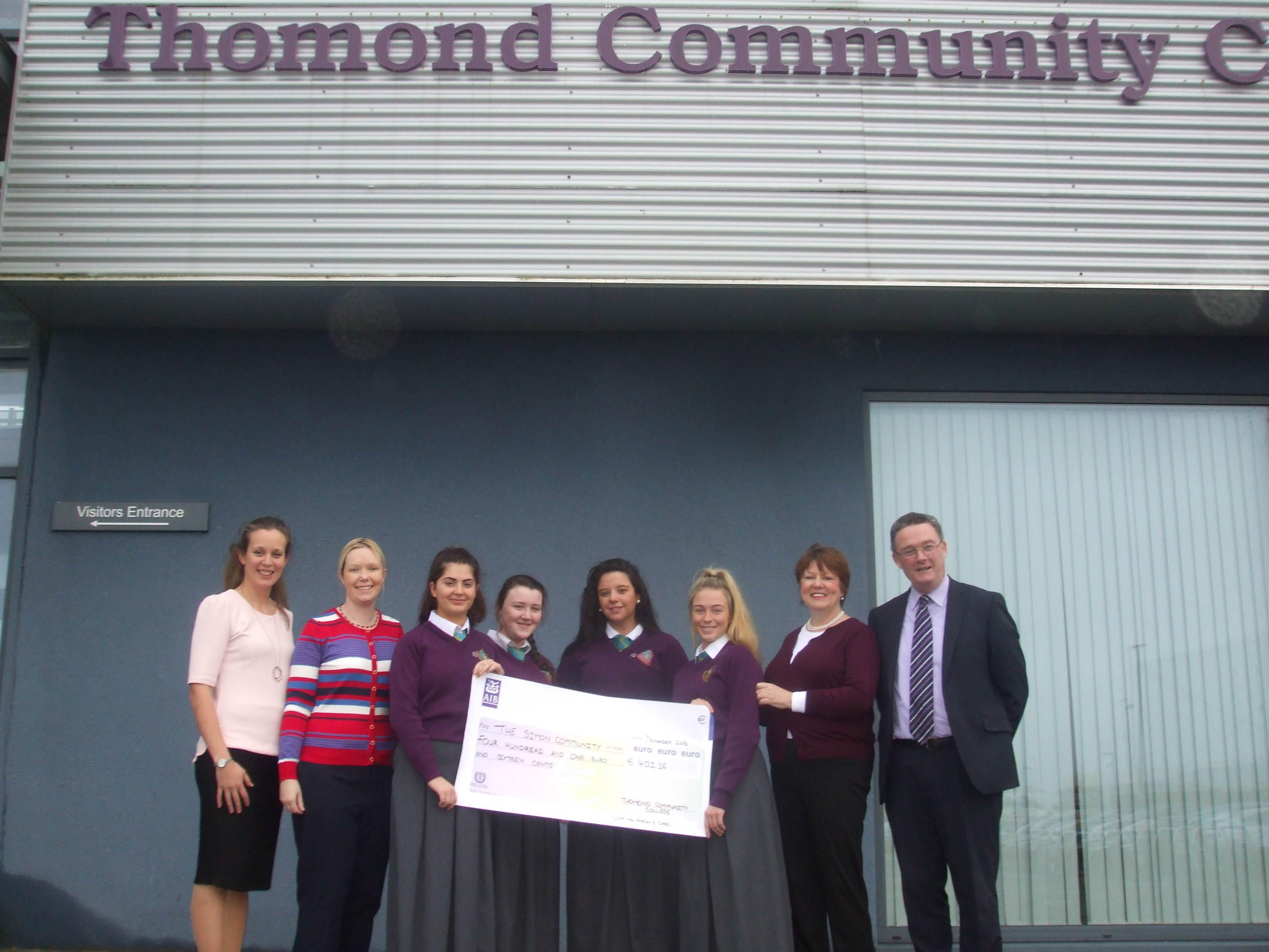 Thomond Community College raise funds