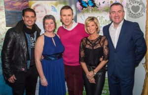 Keith Duffy Foundation raised 28k for Clionas Foundation in 2016
