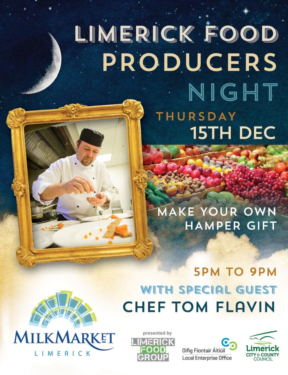 Limerick Food Group Presents Christmas Food Producers Evening