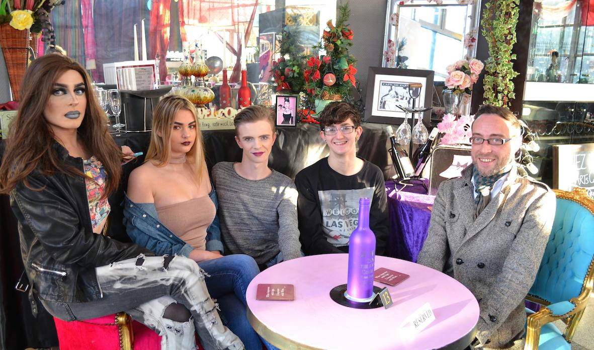 Limerick LGBTQ Pride 2017 Fashion Show Fundraiser at Chez Le Fab