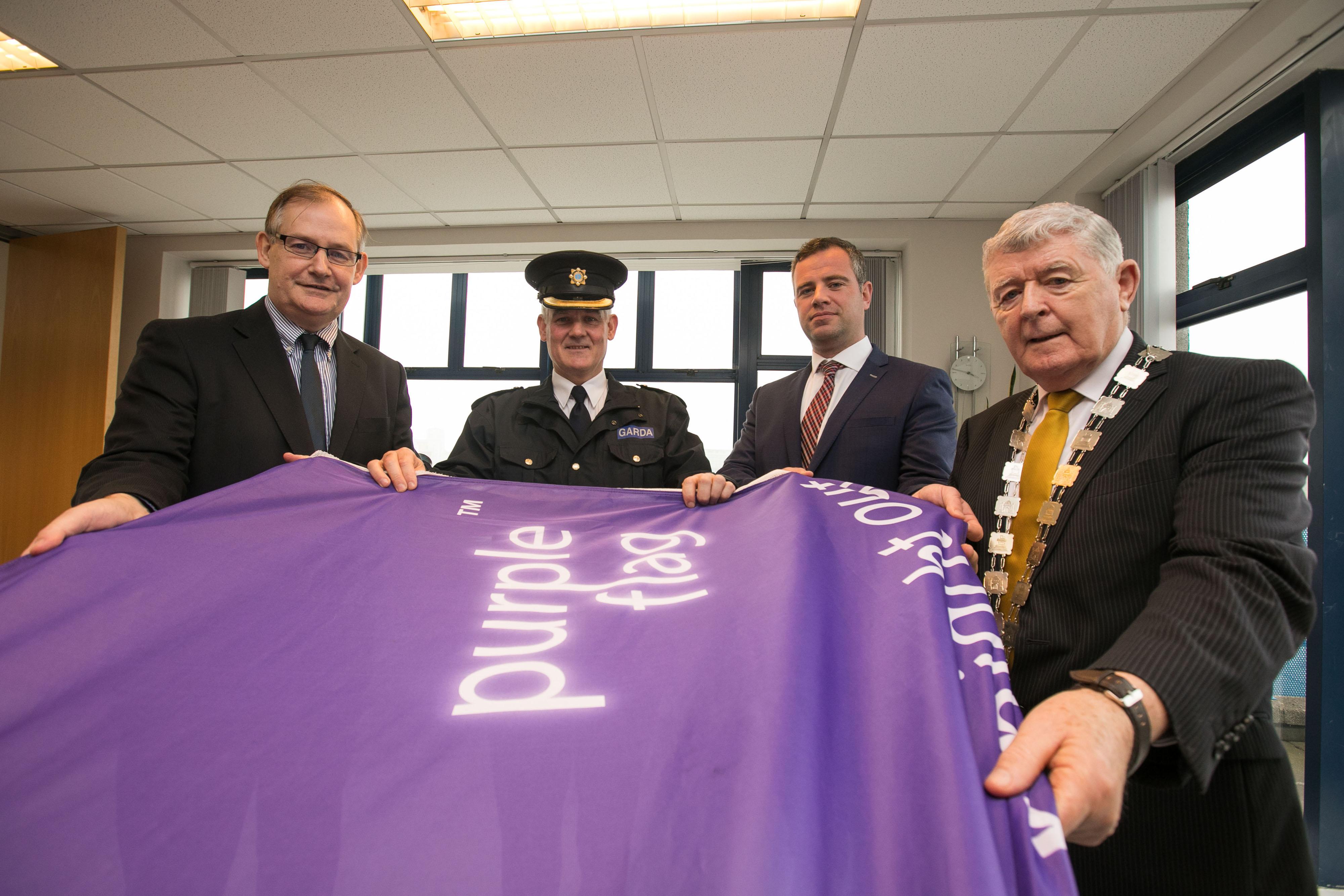 Limerick Purple Flag