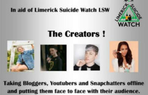 Creators Offline LIT in aid of Limerick Suicide Watch