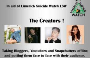 Creators Offline LIT in aid of Limerick Suicide Watch