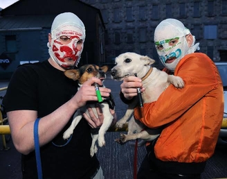 Rubberbandits feature on Trainspotting