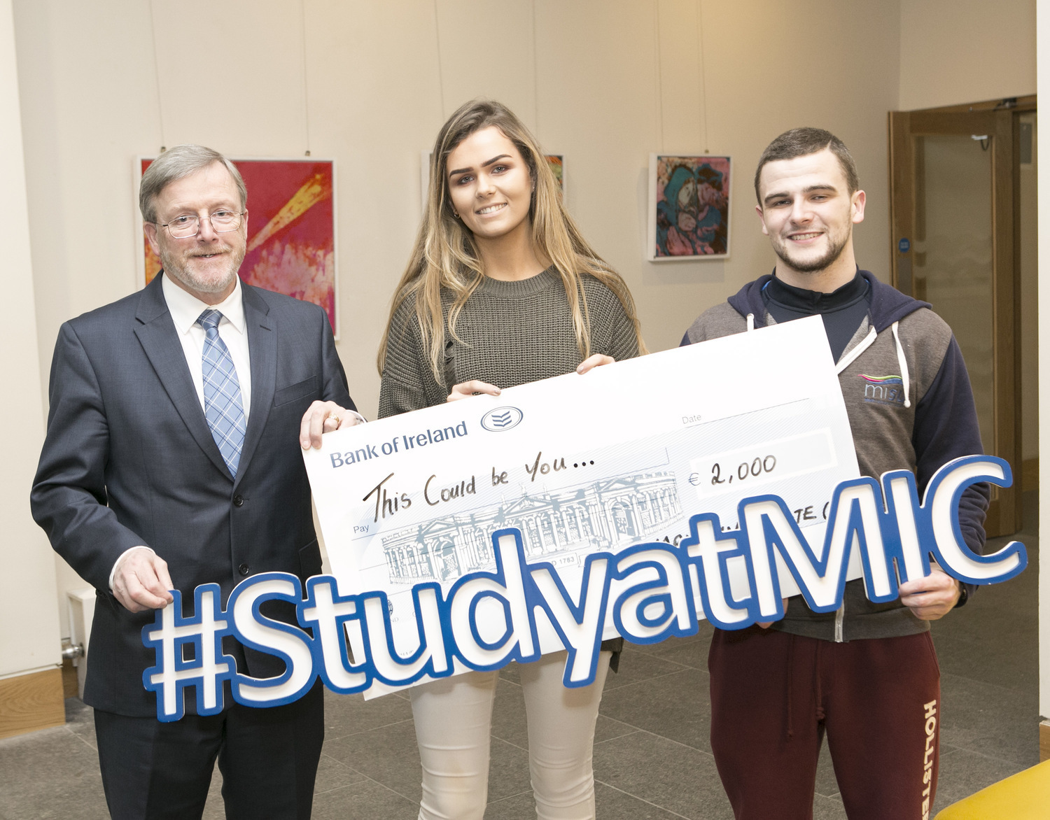 Mary Immaculate College 100,000 Euro scholarship