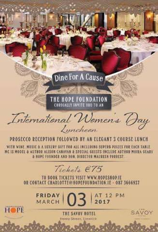 hope foundation womens day luncheon 2017