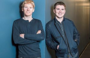 Collison Brothers, Forbes Billionaires List