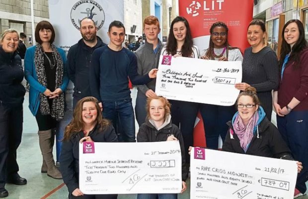 LIT Students raise money for local charities