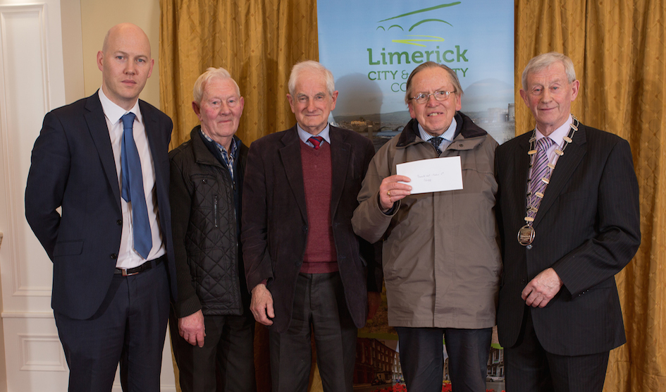 Limerick Burial Ground Awards 2016