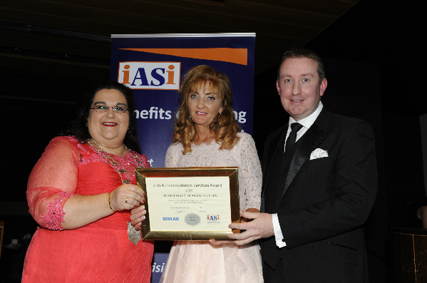 LCETB Hospitality Education and Training Centre Wins Irish Accommodation Service Institute Industry Award