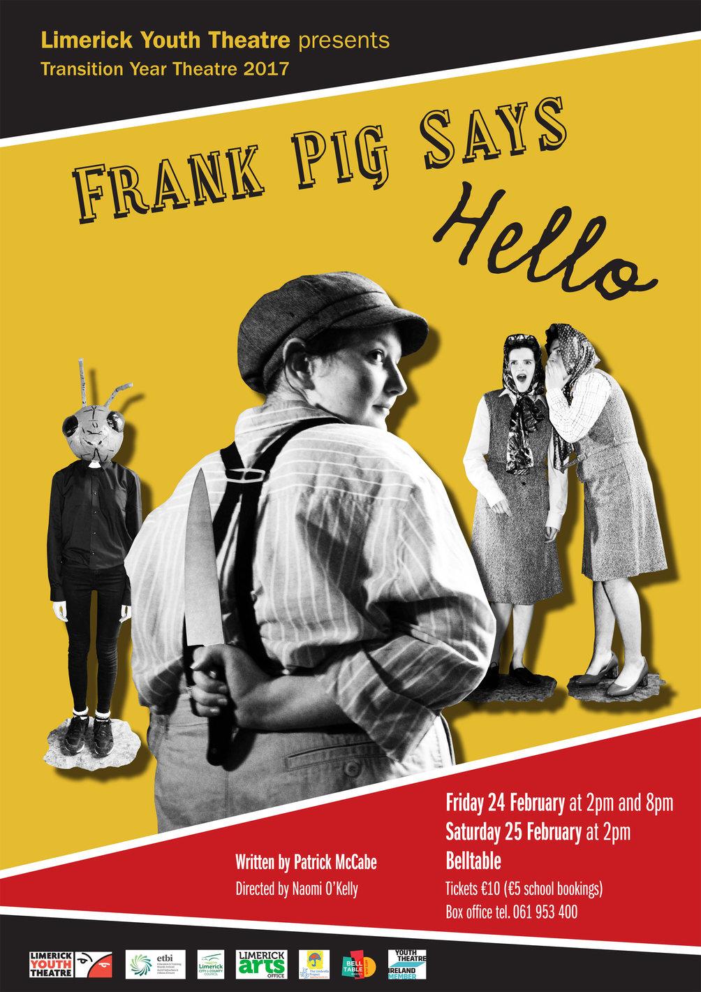 Frank Pig Says Hello