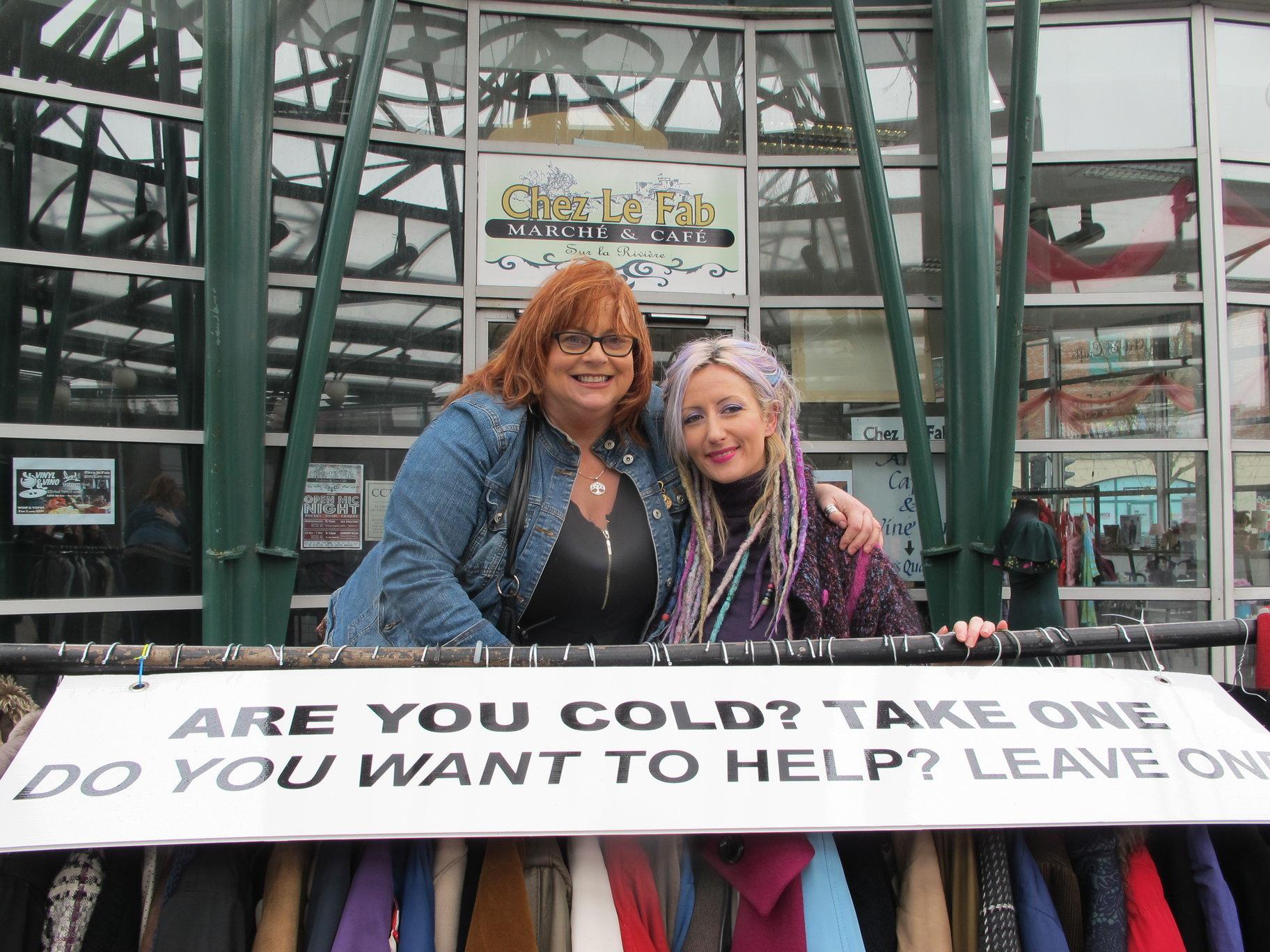 Audrey Ryan #DonateACoat Campaign at Chez le Fab Huge Success