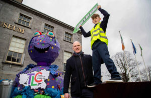Paul O'Connell Launches Quest to Name TLC3 Mascot