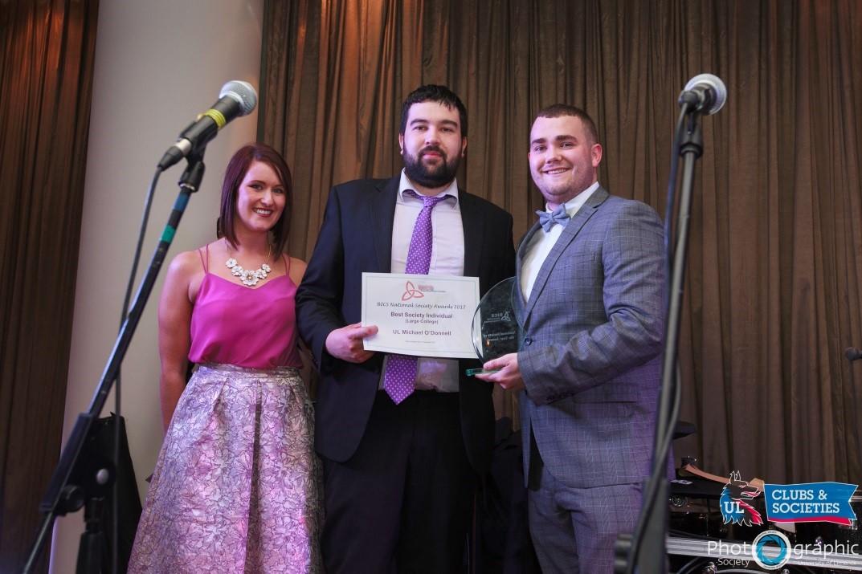 Irish College Societies (BICS) Awards 2017