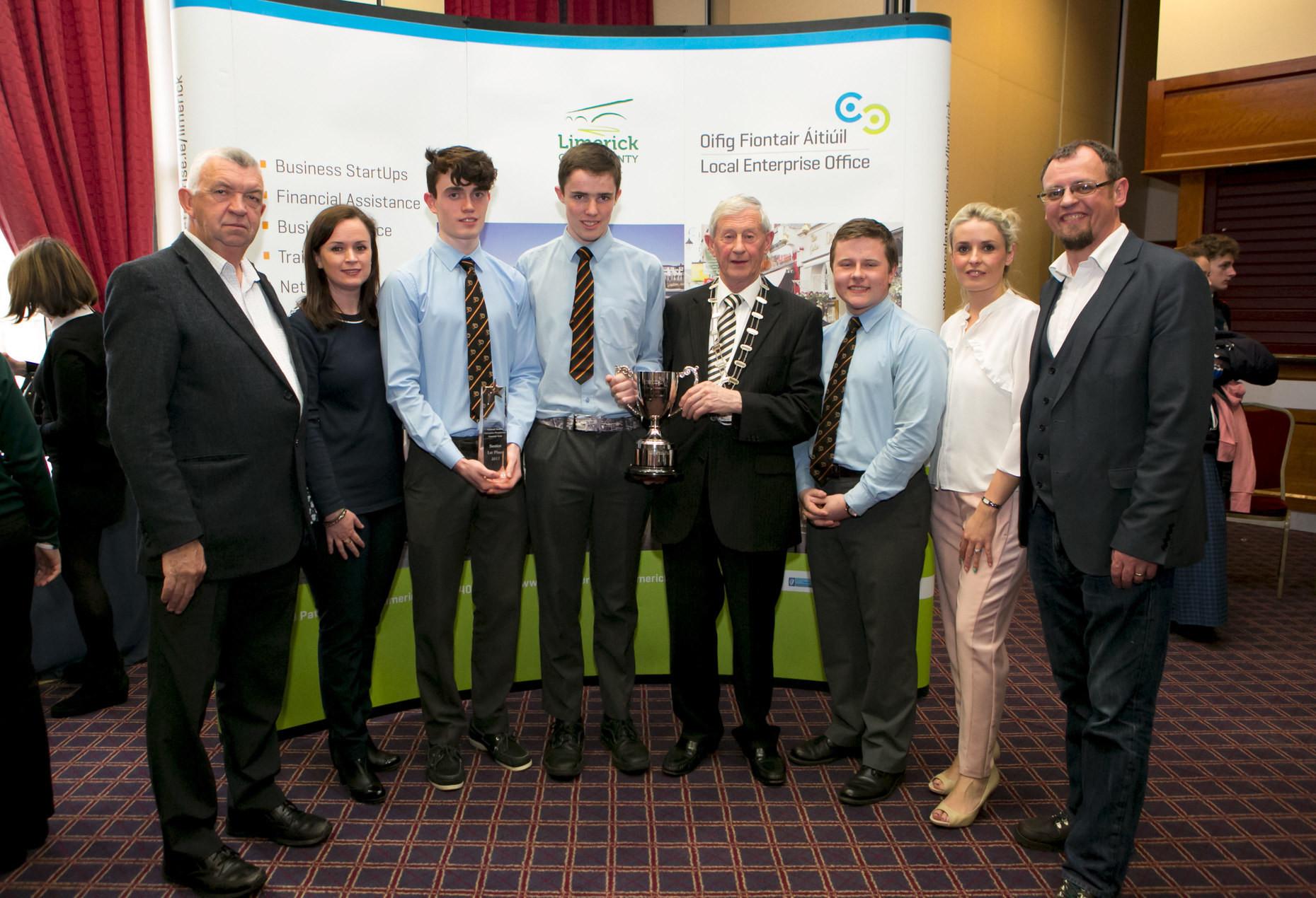 Limerick Student Entrepreneurs of the Year 2017